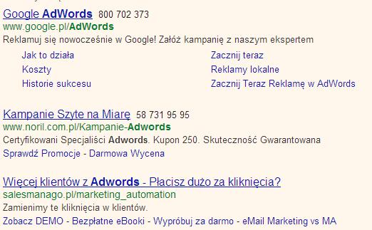 Rozszerzenie Połączeń Reklamy top 3